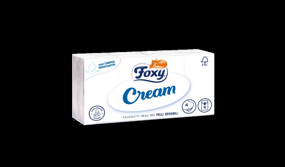 Foxy Cream fazzoletti