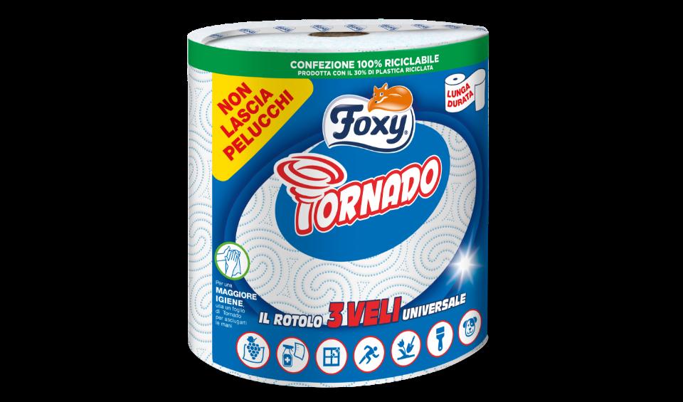 Foxy Tornado asciugatutto